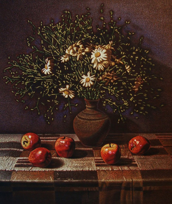 Anatoliy Bulychev - Daisies and Apples